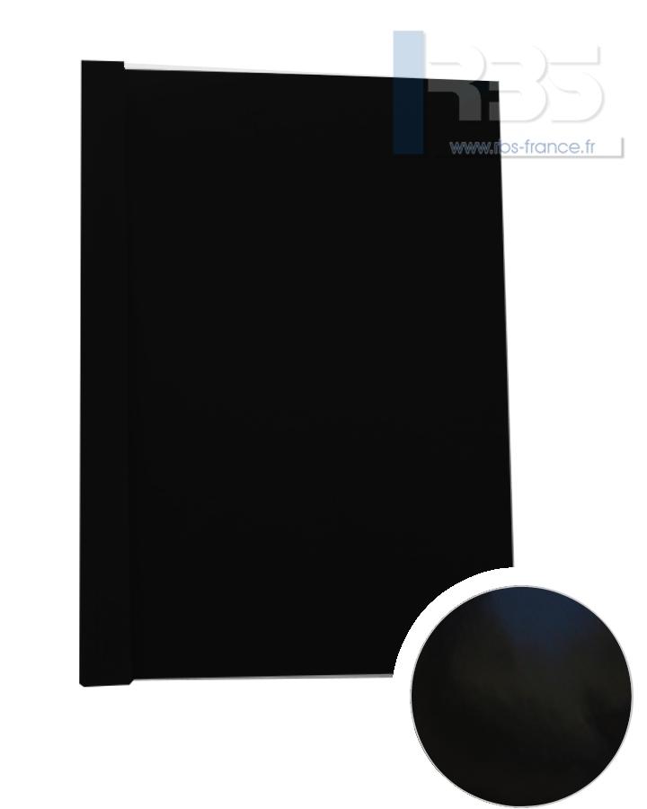 Couverture pré-encollée Chromolux couleur 250g - Coloris : Noir