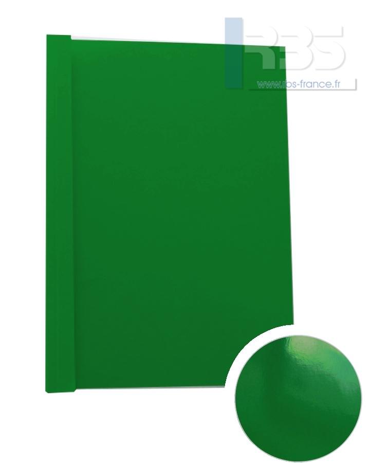 Couverture pré-encollée Chromolux couleur 250g - Coloris : Vert