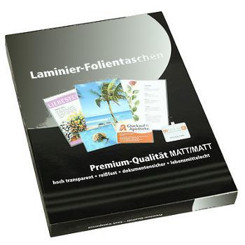 Pochette à plastifier petits formats A5, A6 et A7