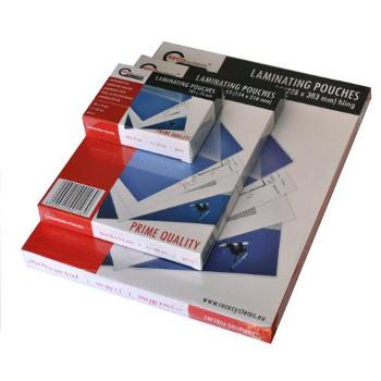 Pochette de plastification formats spécifiques (badges, cartes de crédit...)