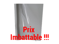 Couverture standing blanc prix imbattable