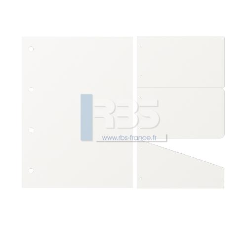 Intercalaire de Classement - Coloris : Blanc