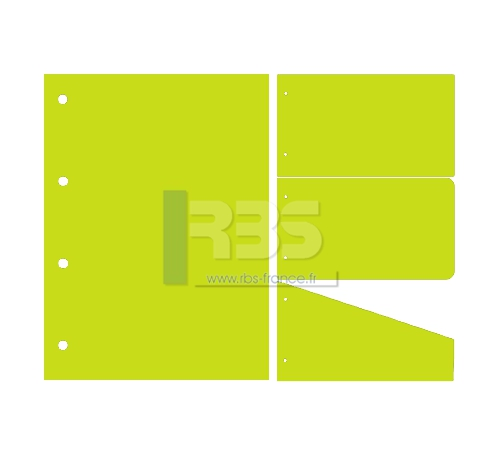Intercalaire de Classement - Coloris : Lime Tonic