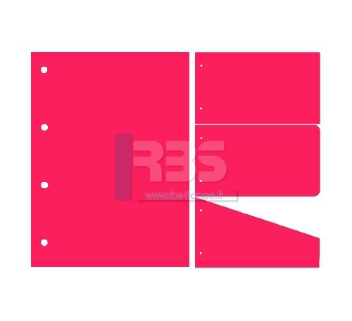 Intercalaire de Classement - Coloris : Cosmo Pink