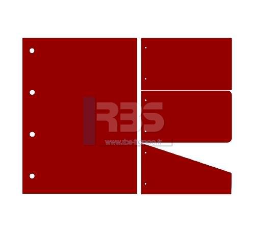 Intercalaire de Classement - Coloris : Ultra Rouge