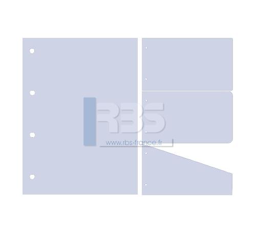 Intercalaire de Classement - Coloris : Bleuet