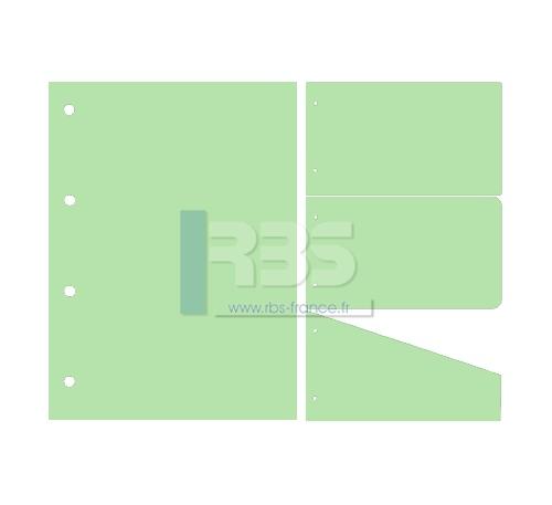 Intercalaire de Classement - Coloris : Vert Amande
