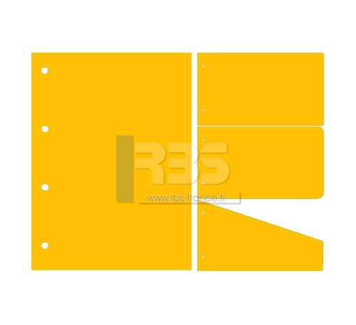 Intercalaire de Classement - Coloris : Golden