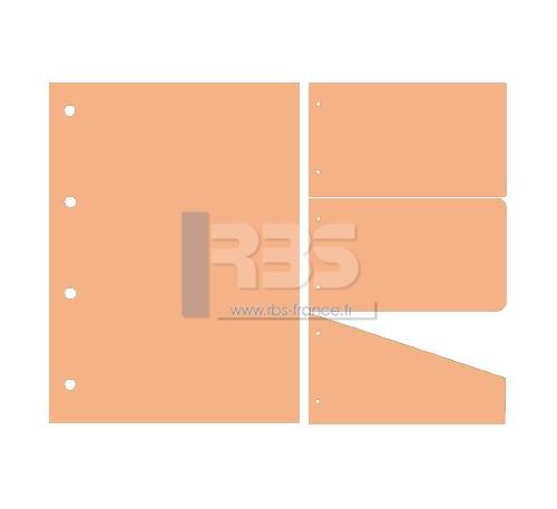 Intercalaire de Classement - Coloris : Abricot