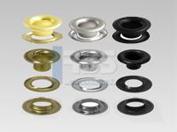 OEillets métalliques pour oeilleteuse pneumatique