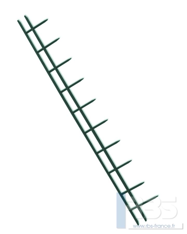 Peignes SureBind 10 picots A4 - Coloris : Vert