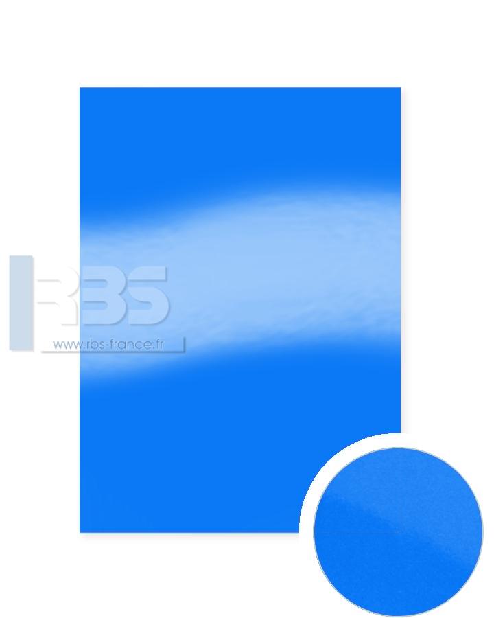 Plats de Couverture Chromolux Color 250g - Coloris : Bleu