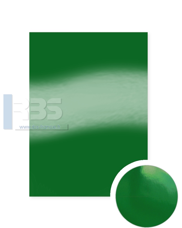 Plats de Couverture Chromolux Color 250g - Coloris : Vert