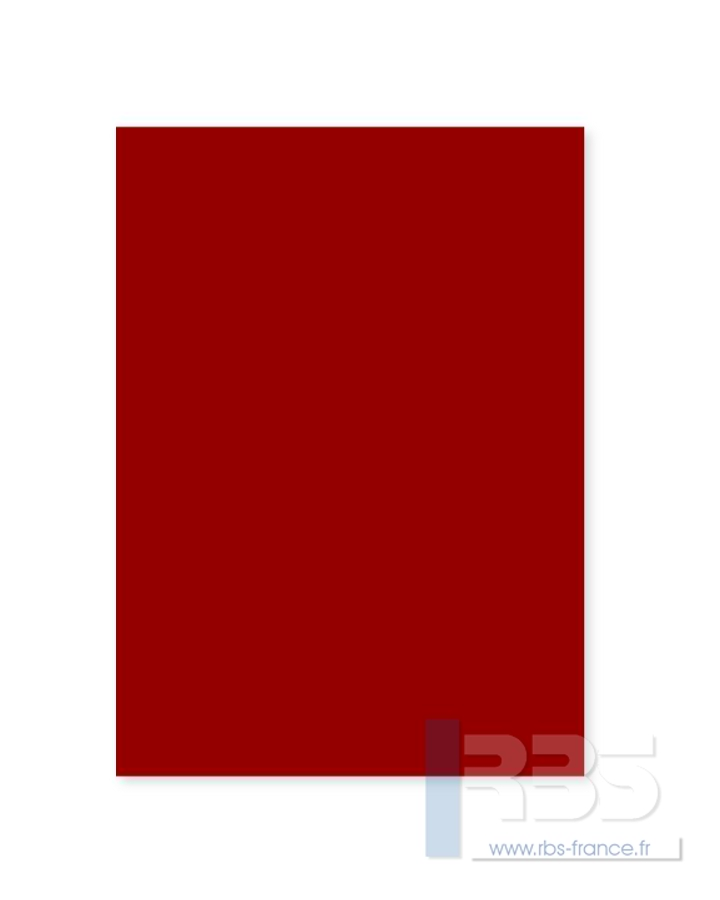 Plats de Couverture Colorit Copy - Coloris : Ultra Rouge