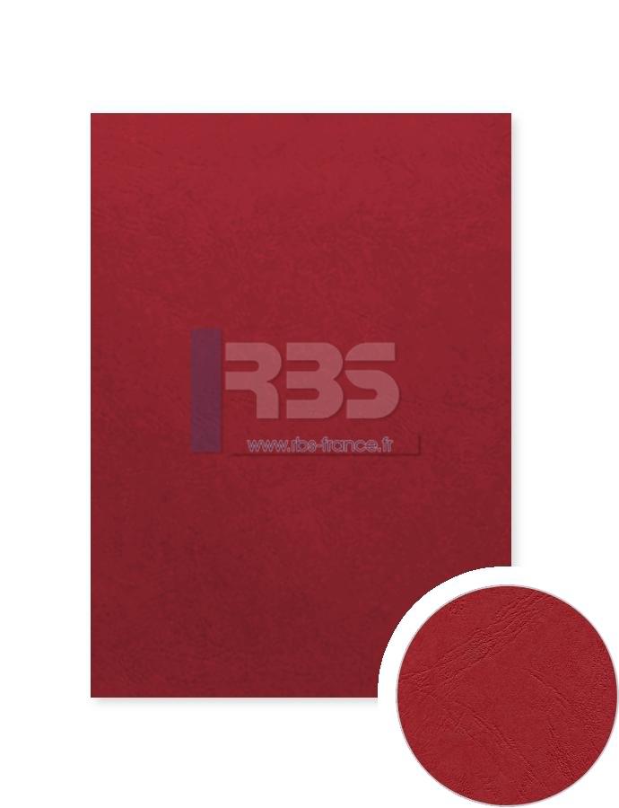 Grain cuir Standard 240g - Coloris : Rouge