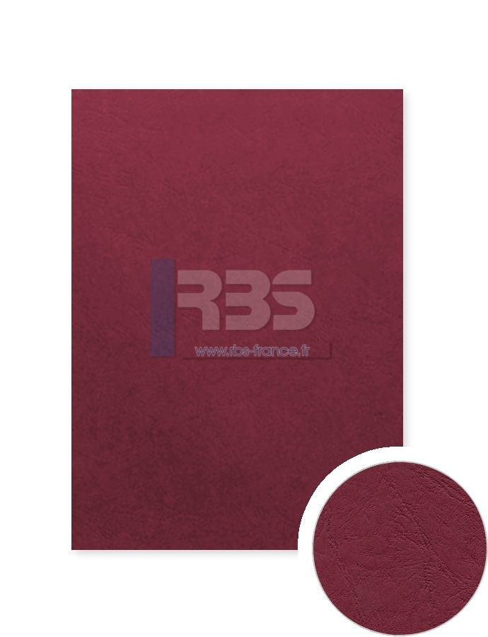 Grain cuir Prestige 270g - Coloris : Bordeaux