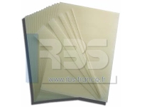 Feuilles de résine collante Flexicut Bindomatic - Coloris : standard