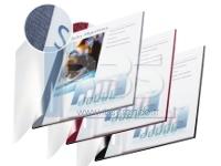 Couverture reliure Channel souple recto transparent et verso carton