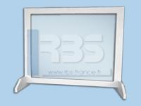 Écrans de protection plexiglas - Coloris : standard