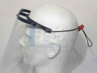 Photo de nos visières de protection 3D
