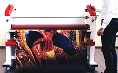 Exemple d'application de la lamination : la protection des affiches de cinéma