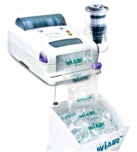 Exemple de machine pour produire des coussins d'air