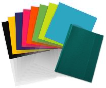Découvrez notre large gamme de coloris de couvertures pour dos carré collé sur le site de RBS France