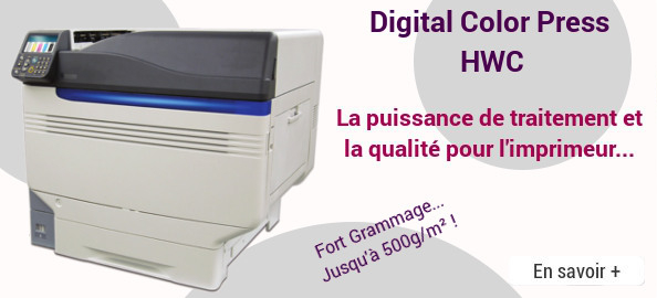 Imprimante numérique Digital Color Press HWC