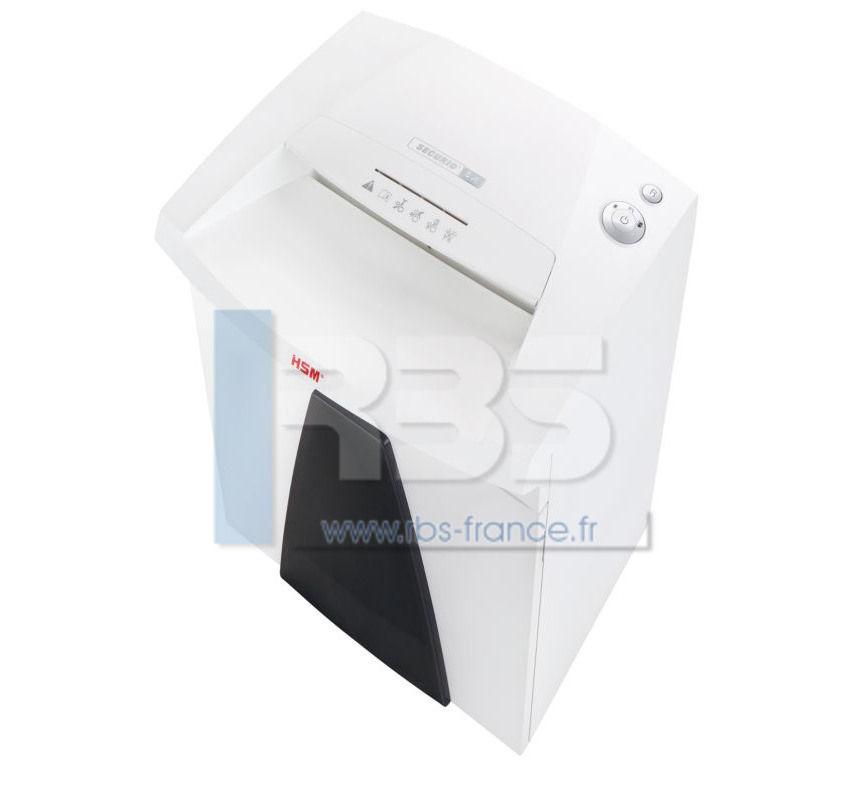 Destructeur de bureau securio b26 5 8mm broyeuse papier - Broyeuse de papier ...