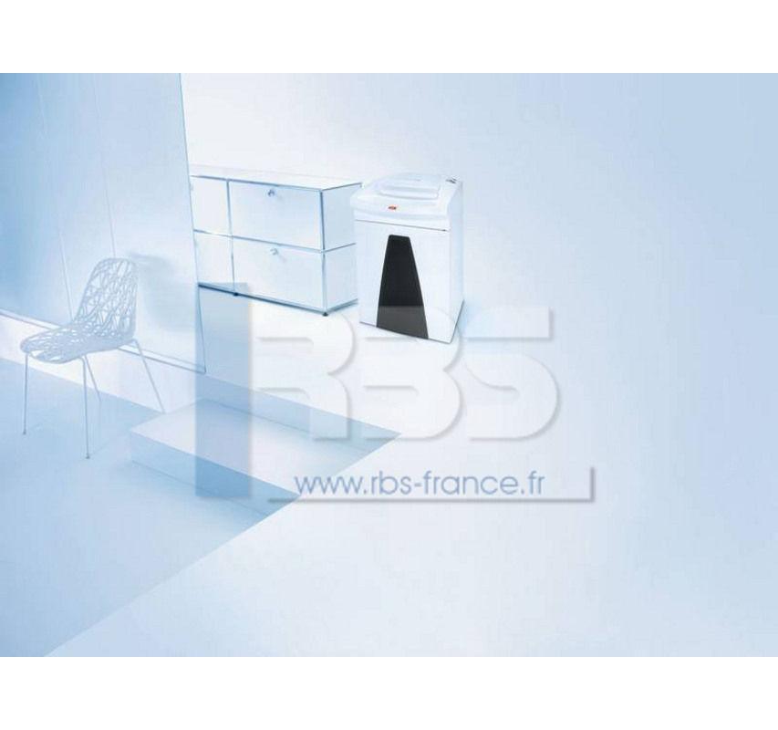 d chiqueteuse papier securio b26 1x5mm destructeur de. Black Bedroom Furniture Sets. Home Design Ideas
