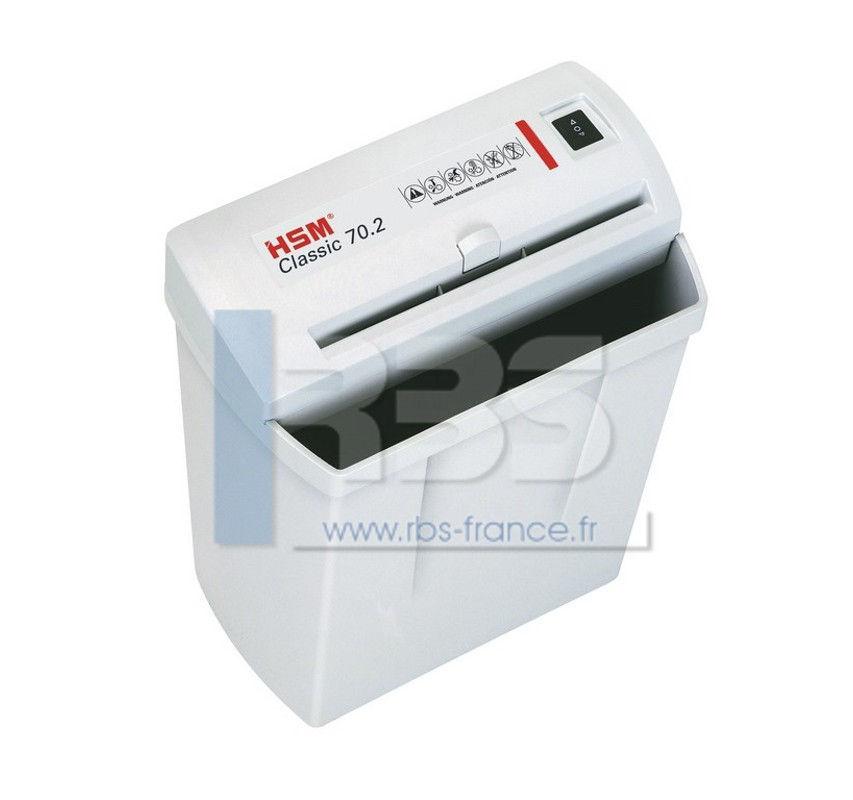 Broyeuse papier hsm 70 2 compact 5 8 destructeur de - Broyeuse de papier ...
