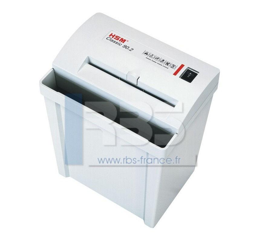 Destructeur de documents hsm 90 2 compact 5 8 broyeuse - Broyeuse de papier ...
