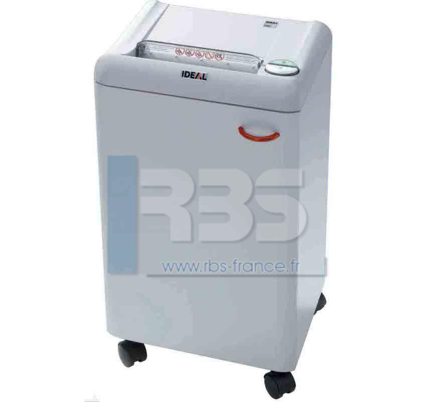 Broyeuse papier ideal 2404 c f destructeur de document - Broyeuse de papier ...