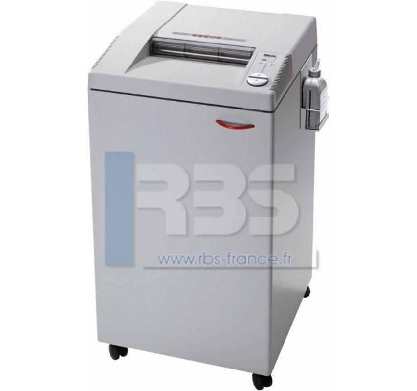 Ideal 3105 cc 4x40mm broyeuse papier avec lubrification - Broyeuse de papier ...