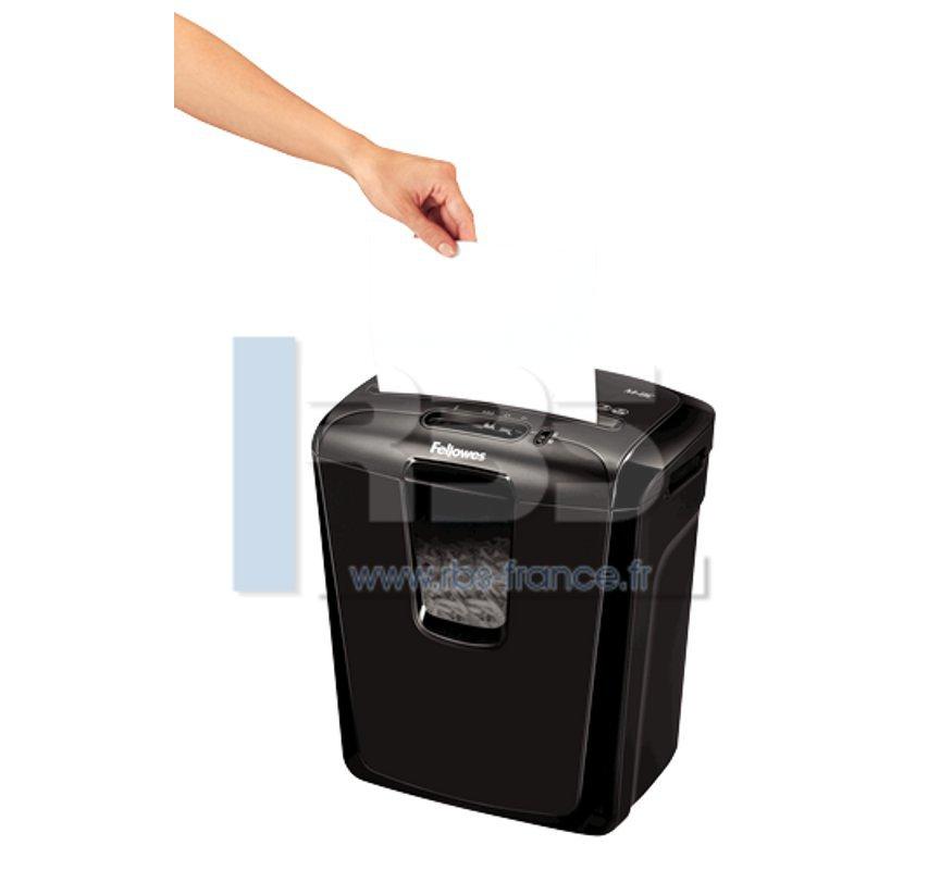 M 8c destructeur de documents pas cher broyeuse papier - Broyeuse de papier ...