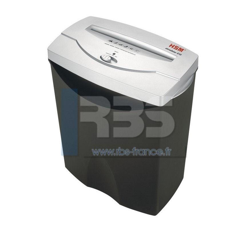 Destructeur cd hsm shredstar s10 broyeuse papier pas cher - Broyeuse de papier ...