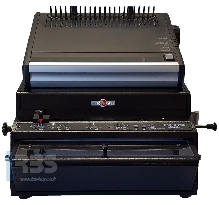 Onyx HD7700 Utima et PBS 2600 - vue 2