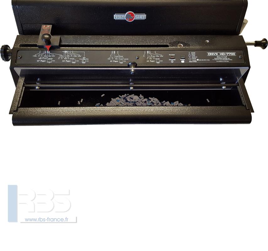 Onyx HD7700 Utima et PBS 2600 - vue 4
