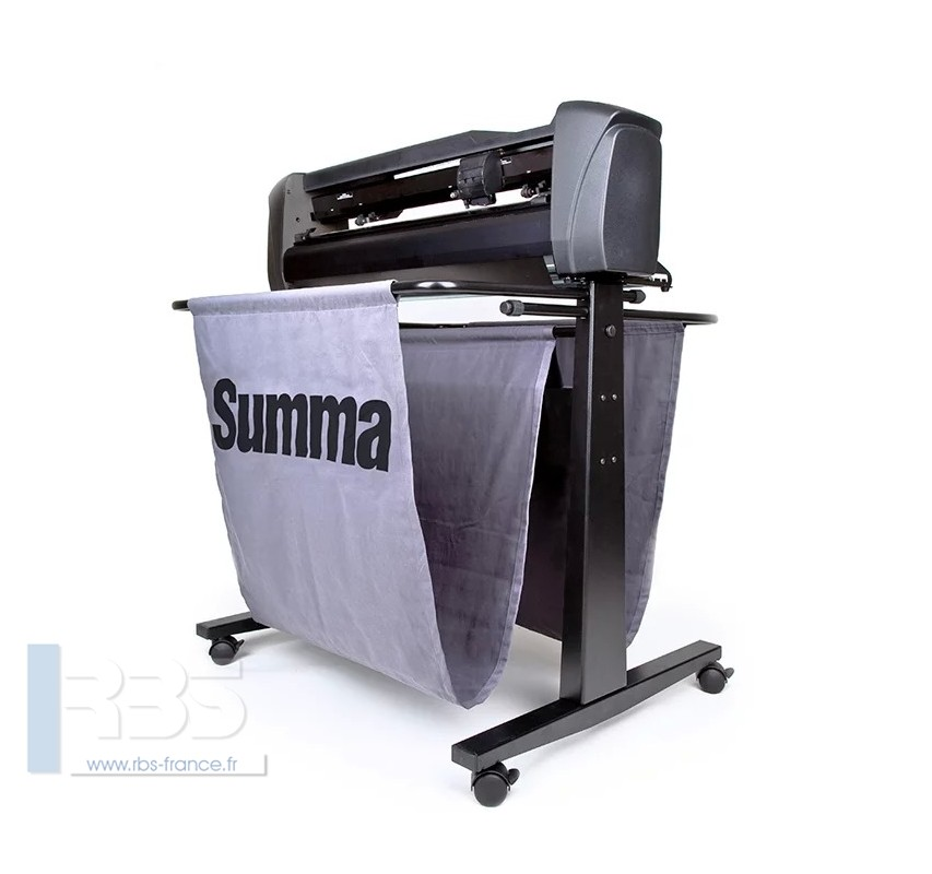 Exemple de plotter de découpe Summa