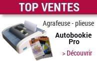 Agrafeuse-plieuse de bureau Autobookie Pro
