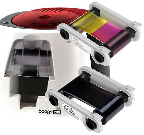 Pour imprimante Badgy 200 - Coloris : standard